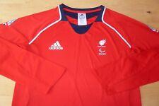 Gran Bretaña Sochi Juegos Olímpicos de Invierno 2014 Adidas Damas Ls Shirt Top Talla 14