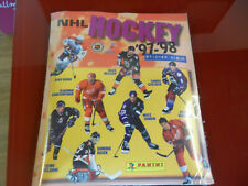 Hockey '97-'98 Sticker Album Panini!! Sealed with all stickers!! New!! Rare NHL