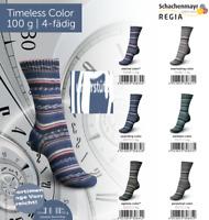 6 x 100 gr. Sockenwolle/Strumpfwolle Regia Timeless Color   !!! Neu !!!!