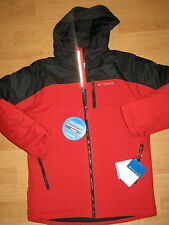 NEW boys winter jacket waterproof Columbia Phantom Slope outerwear red 10-12 wow