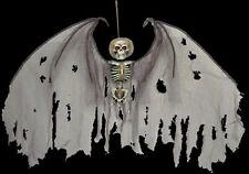 HANGING ANGEL OF DEATH SKELETON HORROR SCENE SKULL PARTY DECOR CEILING PROP
