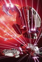 BSG Vs Battlestar Galactica #6  DYNAMITE 1:30 Mojo Virgin Art VARIANT Cover G