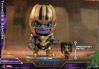 Hot Toys Thanos & Gamora Figure Avengers:Endgame Big Bobble-Head Cosbaby Doll