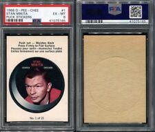 1968 O-PEE-CHEE OPC PUCK STICKERS #1 STAN MIKITA PSA 6 (5165)