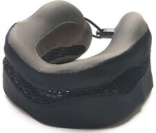 Cabeau Evolution Cool Travel Neck Pillow Memory Foam Gray & Black w/o Bag