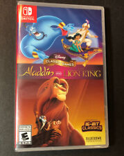 Disney Classic Games [ Aladdin and the Lion King ] (Nintendo Switch) NEW