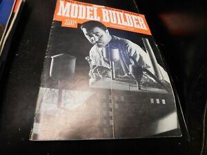 The Model Builder Magazine Vintage Issue December 1938