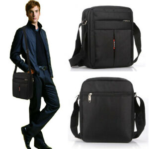 Men Casual Crossbody Shoulder Bags Satchel Messenger Hiking Work Travel Man Bag