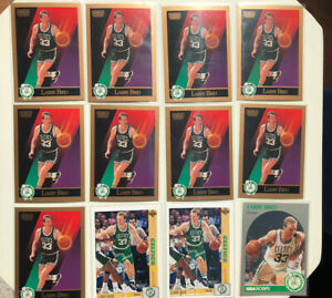 Lot of 12 Larry Bird cards 1989 1990 1991 NM Mint Ready for Grading
