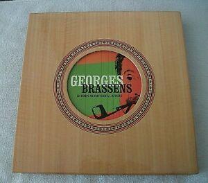 COFFRET 19 CD GEORGES BRASSENS INTEGRALE 2011 COMPLET LIVRE + PORTFOLIO EX ETAT