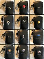 Genuine Leather Cowhide Car Key Holder/KeyRing For All Model - UK Seller