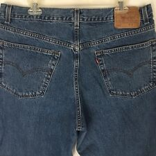 Vtg Levis 550 Relaxed Fit Blue Jeans Actual Size 36x30 Tag 40x30 Red Tab