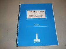 Okuma Cadet V4020 A80001D Electrical Drawing Manual