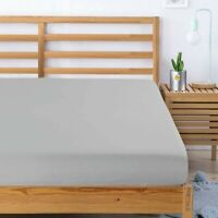 FULL 1 PC WhiteCotton Soft Bed Dressing COVER Deep Pocket,80*60 in FIT Queen