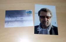 Björn Ulvaeus *ABBA*, original signed Card 15x20 cm and Envelope