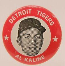 original AL KALINE Detroit Tigers 1969 MLBPA baseball pinback button
