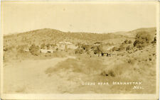 Antique Postcard shows scene near Manhattan, Nevada