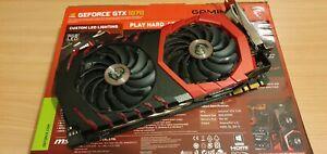 MSI GeForce GTX 1070 GAMING X VR Ready GDDR58GB Graphics Card