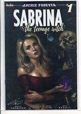 Sabrina The Teenage Witch # 1 Variant Trade and Virgin Set SIGNED by CARLA COHEN