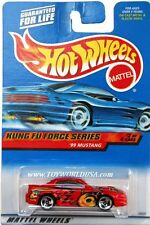 2000 Hot Wheels #34 Kung Fu Force '99 Mustang '00 crd