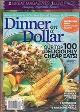 SS LOT 2 bh&g DINNER on a DOLLAR Top 100 Cheap Nutrition Info Recipes ALLRECIPES