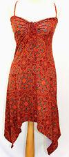 Sommerkleid Summer Dress Ärmellos Beachdress Hippiekleid Tunika Maxikleid Ibiza