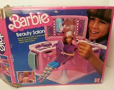 Mattel 1983 Barbie Beauty Salon in Original Box RARE