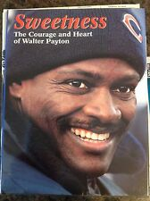 1999 Sweetness The Courage and Heart of Walter Payton Chicago Bears Book HOF