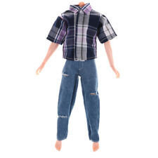 Clothes for Boyfriend Dolls T-shirt & Ripped Jeans Pants Trouser new.