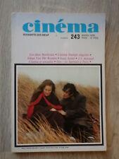 Revue Magazine CINEMA 79 SOIXANTE DIX NEUF Nr 243 (1979) Nosferatu Utopia