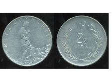 TURQUIE   2 1/2  lira 1966