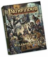 Pathfinder Juego de Rol Villain Codex Bolsillo Edición - Juego Libro