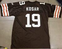 VTG Puma Men's BERNIE KOSAR Sz XL Cleveland Browns Football nfl Jersey X-large