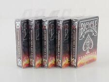 LOT OF 5 PACKS Bicycle Poker Playing Cards Stargazer Sunspot Design