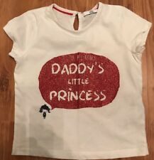 Girls Age 3-4 M&S I Love My Daddy T Shirt