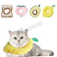 Pet Cat Dog Recovery Collar Anti-bite Adjustable Soft Neck Cone Protection NEW