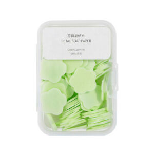 Soap Tablets Travel Boxed Hand Washing And Bath Tablets Outdoor Soap Tabl FJ