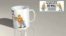 FIX IT  coffee tea mug /gift present birthday novelty