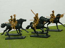 1/32 SCALE / 54MM WWI MOUNTED BRITISH LANCER FIGURE SET