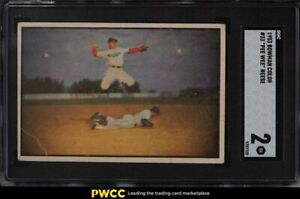 1953 Bowman Color Pee Wee Reese #33 SGC 2 GD