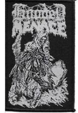 HOODED MENACE - Reanimated By Death - Woven Patch / Aufnäher