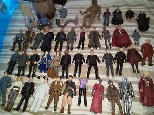 Doctor who 5 inch figures big job lot.