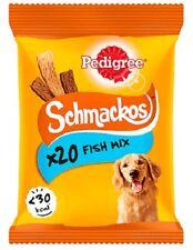 Pedigree SCHMACKOS Dog Treats Fish Mix 20 Stick Bulk Value Pack Natural Chew