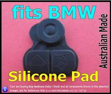 fits BMW remote Key FOB series 3 5 7 X5 -  Silicone replacement key buttons Pad