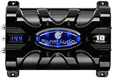 Planet Audio PC10F 10 Farad Capacitor With Digital Volt Disp Blue Illumination