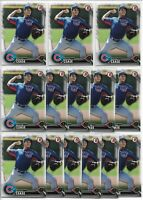 2016 Bowman Draft Dylan Cease (14) Card Bulk Paper Lot Cubs White Sox #BD-127