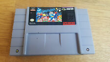 SUPER BOMBERMAN 1  (US) SNES Super Nintendo NTSC #