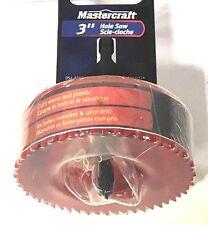 "MasterCraft 3"" Hole Saw Mandrel Pilot Drill Wood Plastic"