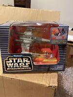 Micro Machine Star Wars Action Fleet Luke's  X-Wing Fighter  Luke R2-D2  Galoob