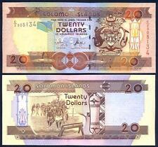SOLOMON ISLANDS 20 Dollars 2004 UNC P 28 a